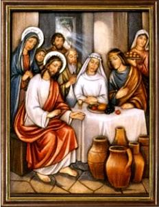 La Autorrevelación de Jesús en las Bodas de Caná. Misterios Luminosos (jueves)