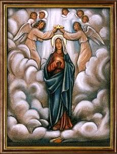 La Coronación de María como Reina de los Cielos. Misterios Gloriosos (miércoles y domingo)