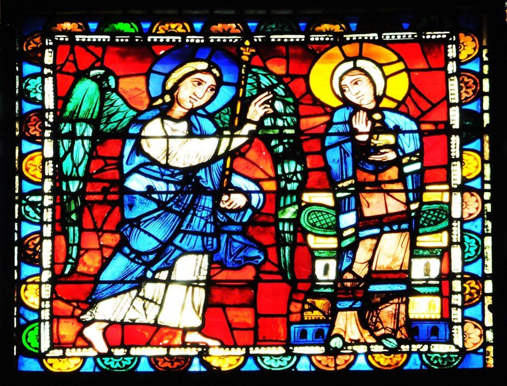 Vidrial de los misterios del rosario