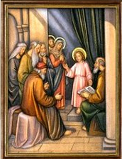 Jesús Perdido y Hallado en el Templo. Misterios Gozosos (lunes y sábado)