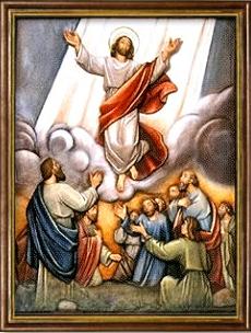 La Ascensión de Jesús a los Cielos. Misterios Gloriosos (miércoles y domingo)