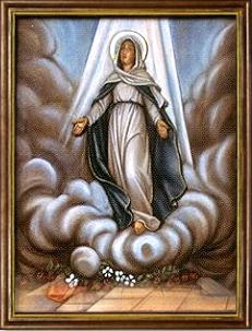 La Asunción de Nuestra Madre a los Cielos. Misterios Gloriosos (miércoles y domingo)