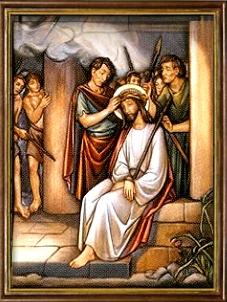 La Coronación de Espinas. Misterios Dolorosos (martes y viernes)
