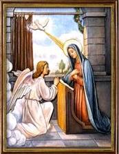 La Encarnación del Hijo de Dios. Misterios Gozosos (lunes y sábado)