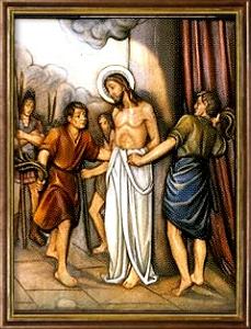 La Flagelación del Señor. Misterios Dolorosos (martes y viernes)