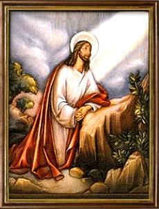 La Oración de Nuestro Señor en el Huerto. Misterios Dolorosos (martes y viernes)