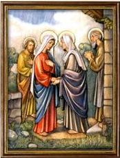 La Visitación de Nuestra Sra. a su Prima Santa Isabel. Misterios Gozosos (lunes y sábado)