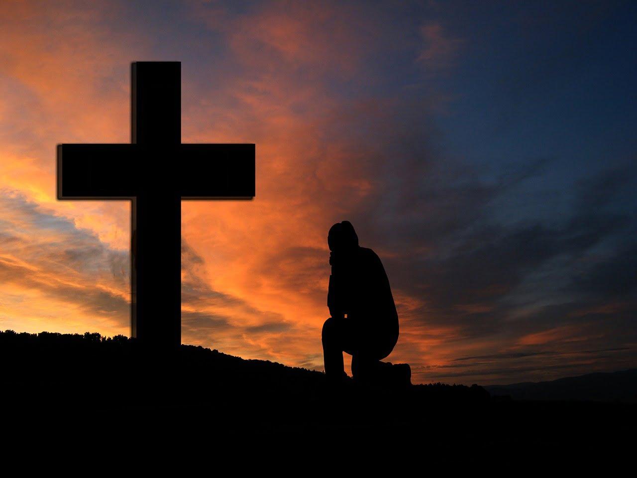 Cruz para Rezar Letanias del rosario