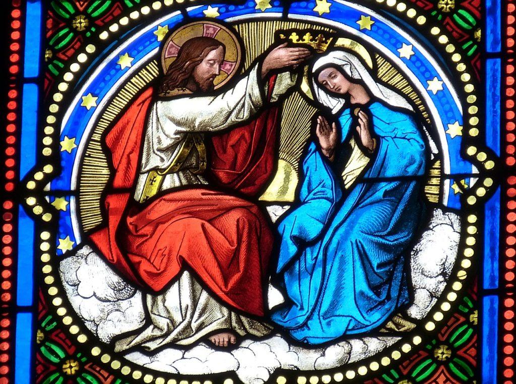 Vidreria Misterios Gozosos Lunes y Sabado